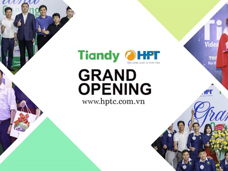 Tiandy Grand Opening